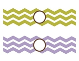 Chevron Drawer Labels