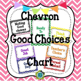 Chevron EDITABLE Behavior Management Clip Chart
