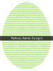 Chevron Easter Eggs {Graphics for Commercial Use}