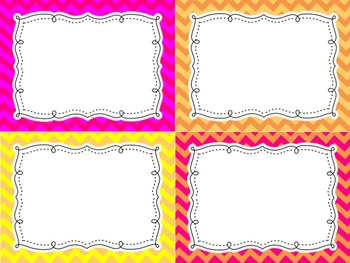 Chevron Easy Edit Labels