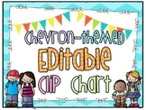 Chevron * Editable * Clip Chart/Headers