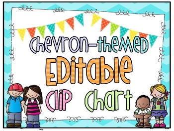 Chevron * Editable * Clip Chart/Headers