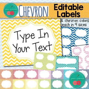 #memoriesdeal Chevron Labels