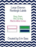 Chevron Editable Rectangles
