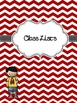 Chevron {Editable} Teacher Binder with Melonheadz Accents