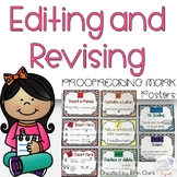 Editing & Proofreading Mark Posters