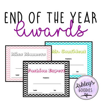 Chevron End of the Year Awards