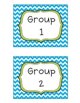 Chevron Frame Labels