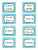 Chevron Frame Labels