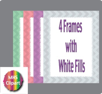Chevron Framed Papers
