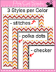 Chevron Page Borders and Frames Clip Art Value Pack