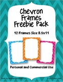 Chevron Frames FREEBIE! 12 Frames for Personal and Commercial Use
