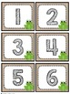 Chevron Frog Number Labels: Editable, Classroom Decor, Organizational Tool