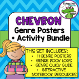 Chevron Genre Poster Bundle with Printable extras!!!