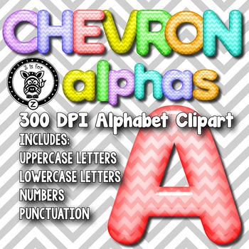 Chevron Glass Alpha Clip Art