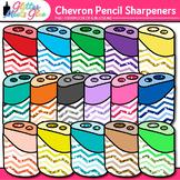 Chevron Pencil Sharpener Clip Art | School Clipart for Teachers