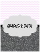 Chevron & Glitter Student Data & Organization Binder