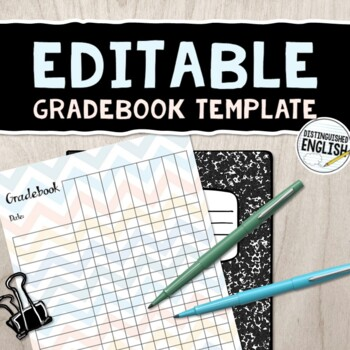 gradebook template teaching resources teachers pay teachers