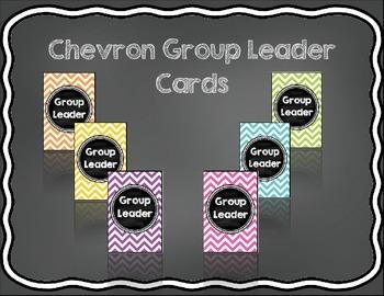 Chevron Group Leader Cards