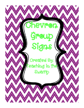 Chevron Group Signs