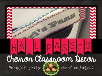 Chevron Hall Passes