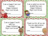 Chevron Holiday Notes