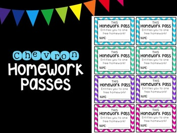 Chevron Homework Pass