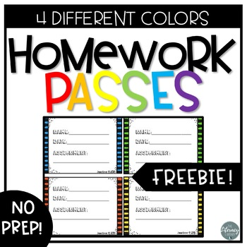 Chevron Homework Passes