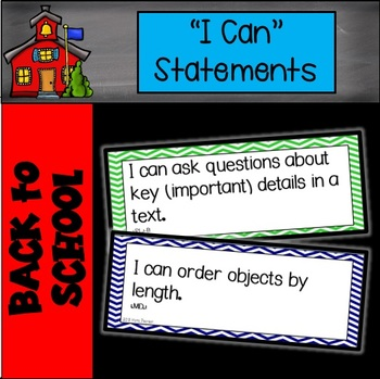 "Chevron ""I Can"" Statements"