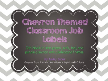 Chevron Job Labels