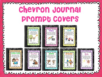Chevron Journal Prompt Covers