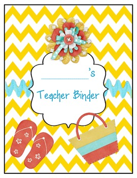 Chevron Labels Cover Page Freebie