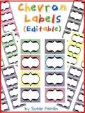 Chevron Labels (Editable)
