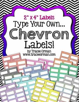 labels chevron editable 2x by tracee orman teachers pay teachers