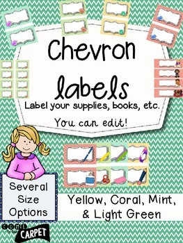 Chevron Labels: You Can Edit!