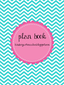 Chevron Lesson Plan Book