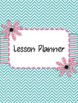Chevron Lesson Planner