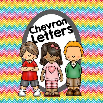 Chevron Letters