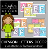 Chevron Letters Decor Pack {A Hughes Design}
