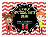 Chevron Library Labels