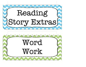 Chevron Literacy Center Direction Cards