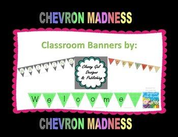 "Chevron Madness ""Data wall"" Banner"
