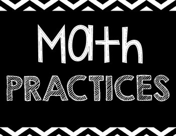 Chevron Math Practices