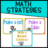 Chevron Math Strategy Posters