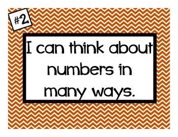 Chevron Mathematical Practice Posters