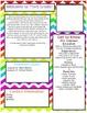 Chevron Meet the Teacher Newsletter