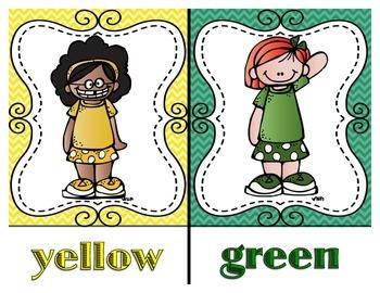 Chevron Melonheadz Color Posters