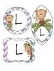 Chevron Monkey Labels