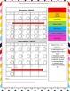 Chevron Monthly Behavior Charts/Calendars *Editable
