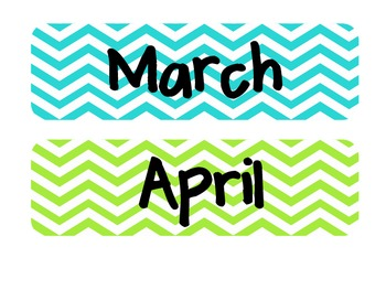 Chevron Months